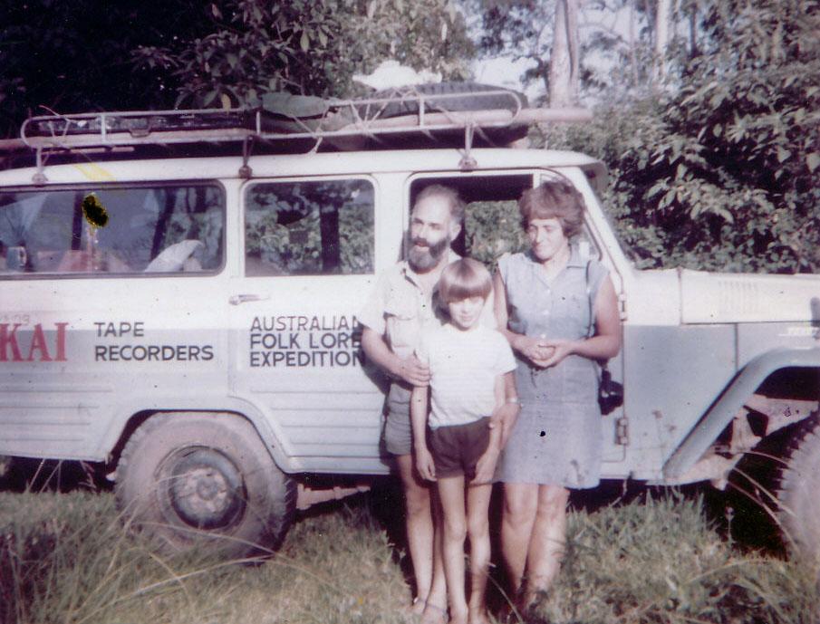 Wendy, Werner and Richard Lowenstein 1969